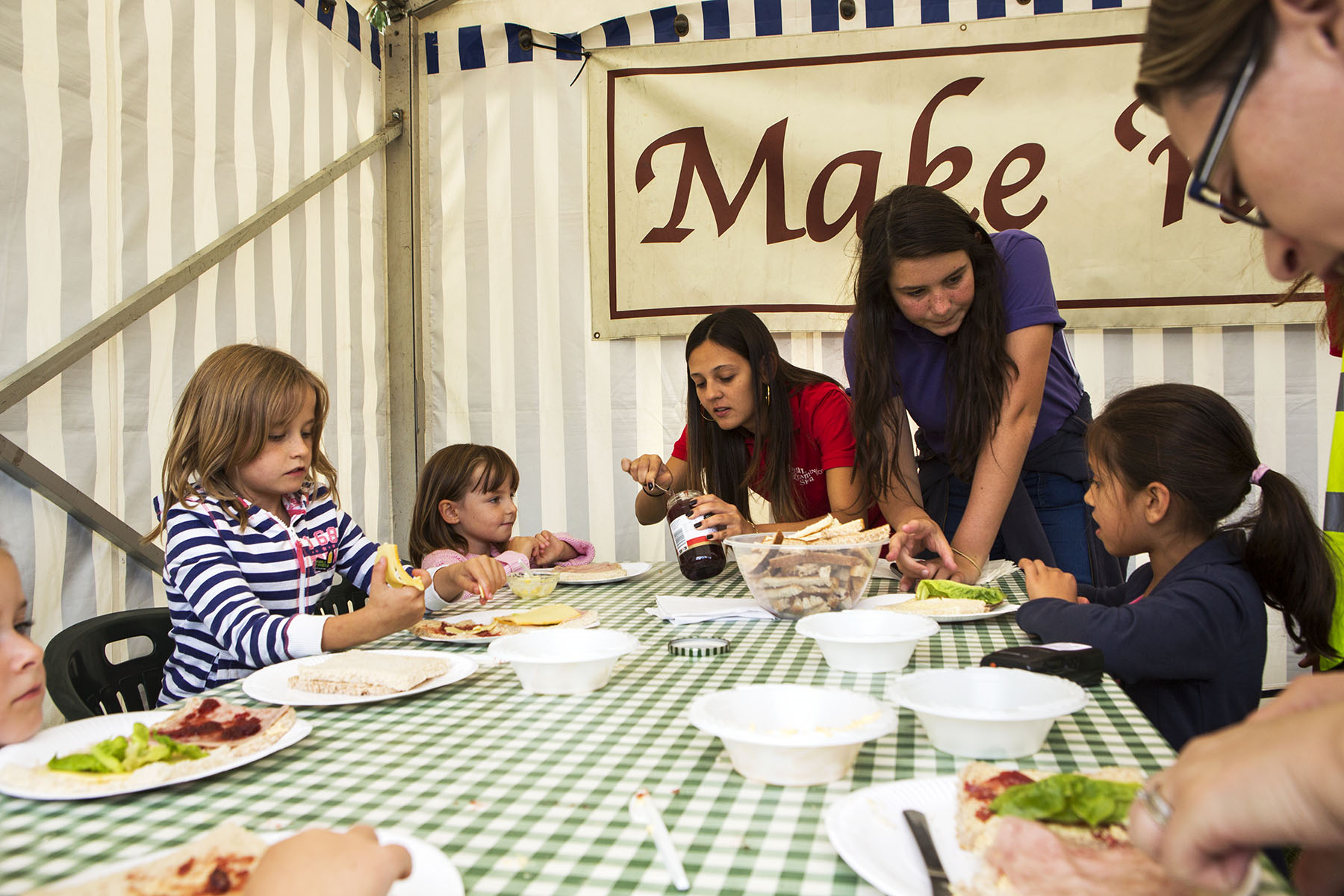 Kids Cookery School Leamington Food Festival